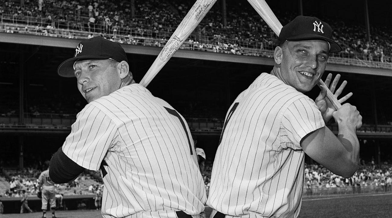 Mickey Mantle and Roger Maris, New York Yankees