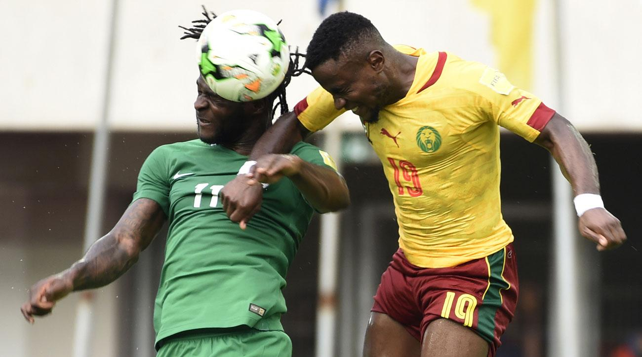 Nigeria, Cameroon draw in World Cup qualifying