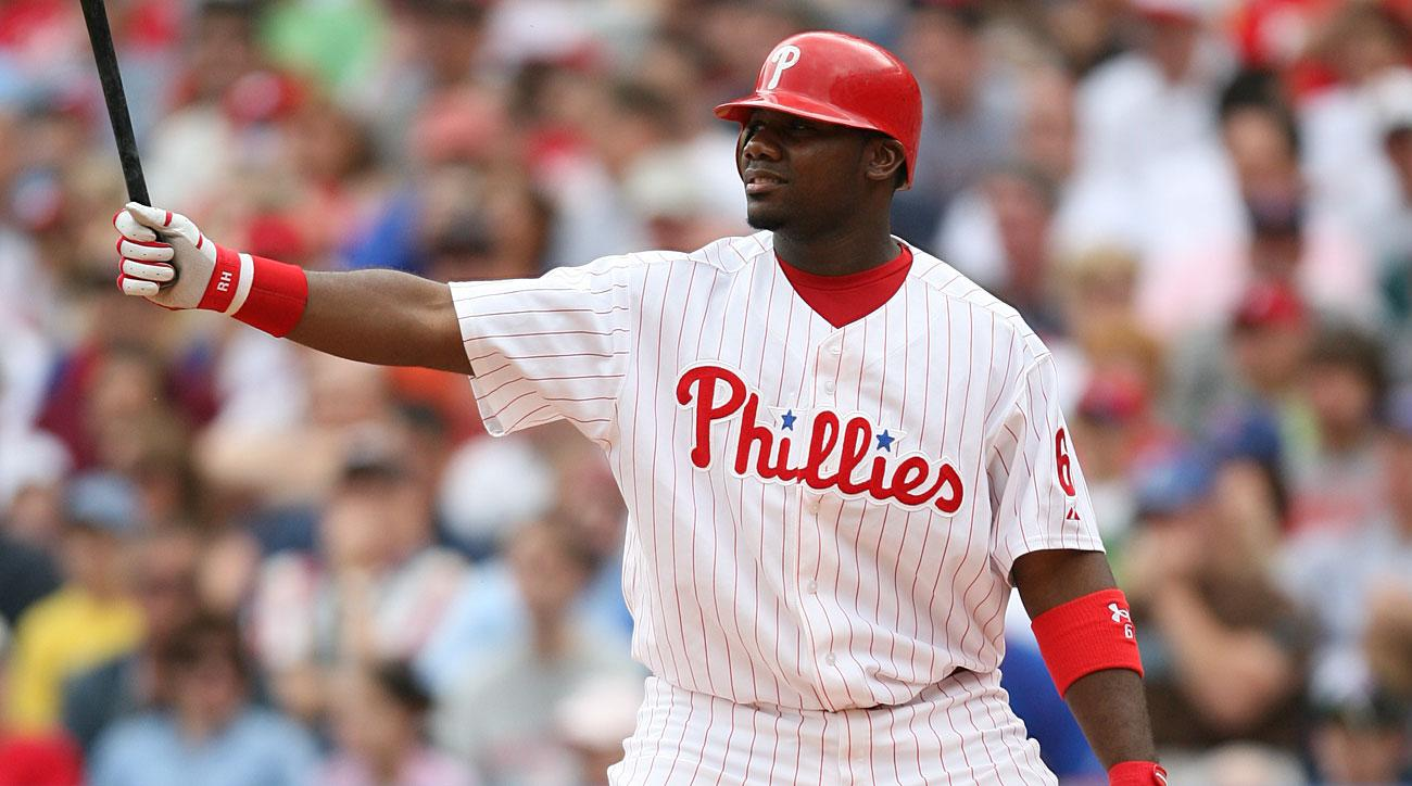 Ryan Howard, Philadelphia Phillies