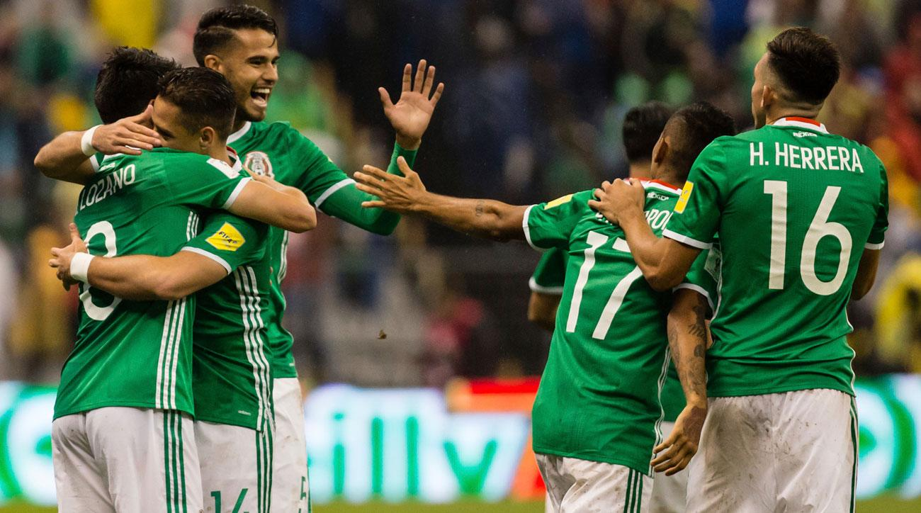 Chicharito tog mexiko till final