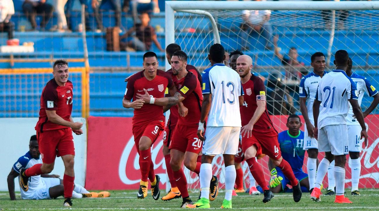 Late Wood goal earns United States  1-1 draw with Honduras