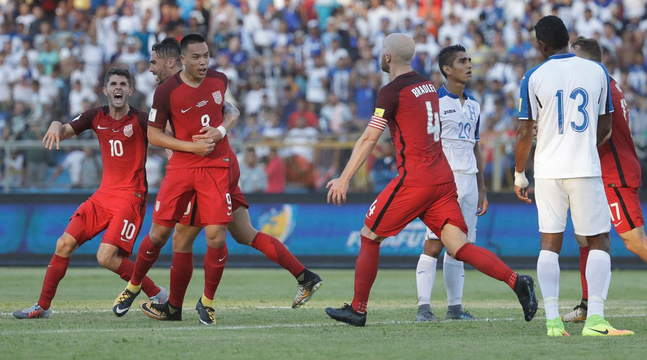 Usa Avoids World Cup Qualifying Disaster In Honduras On Wood Goal Si