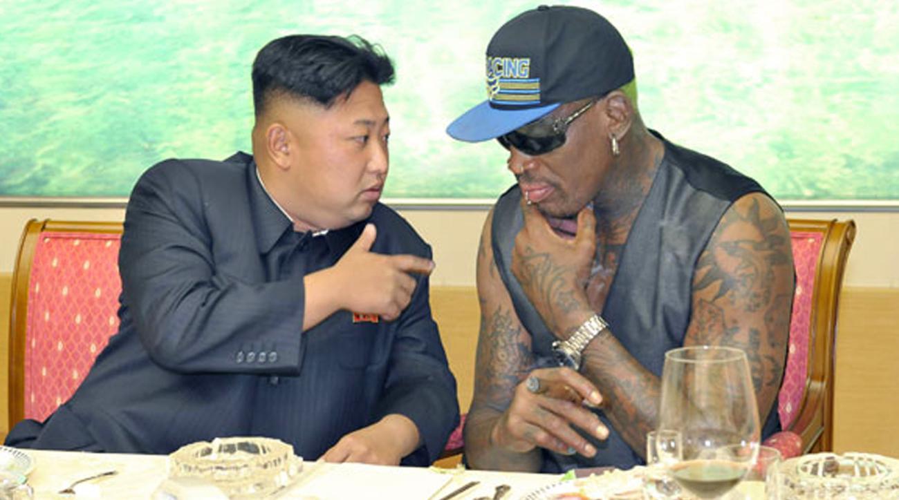 Basketball star Dennis Rodman reveals his karaoke duets with Kim Jong
