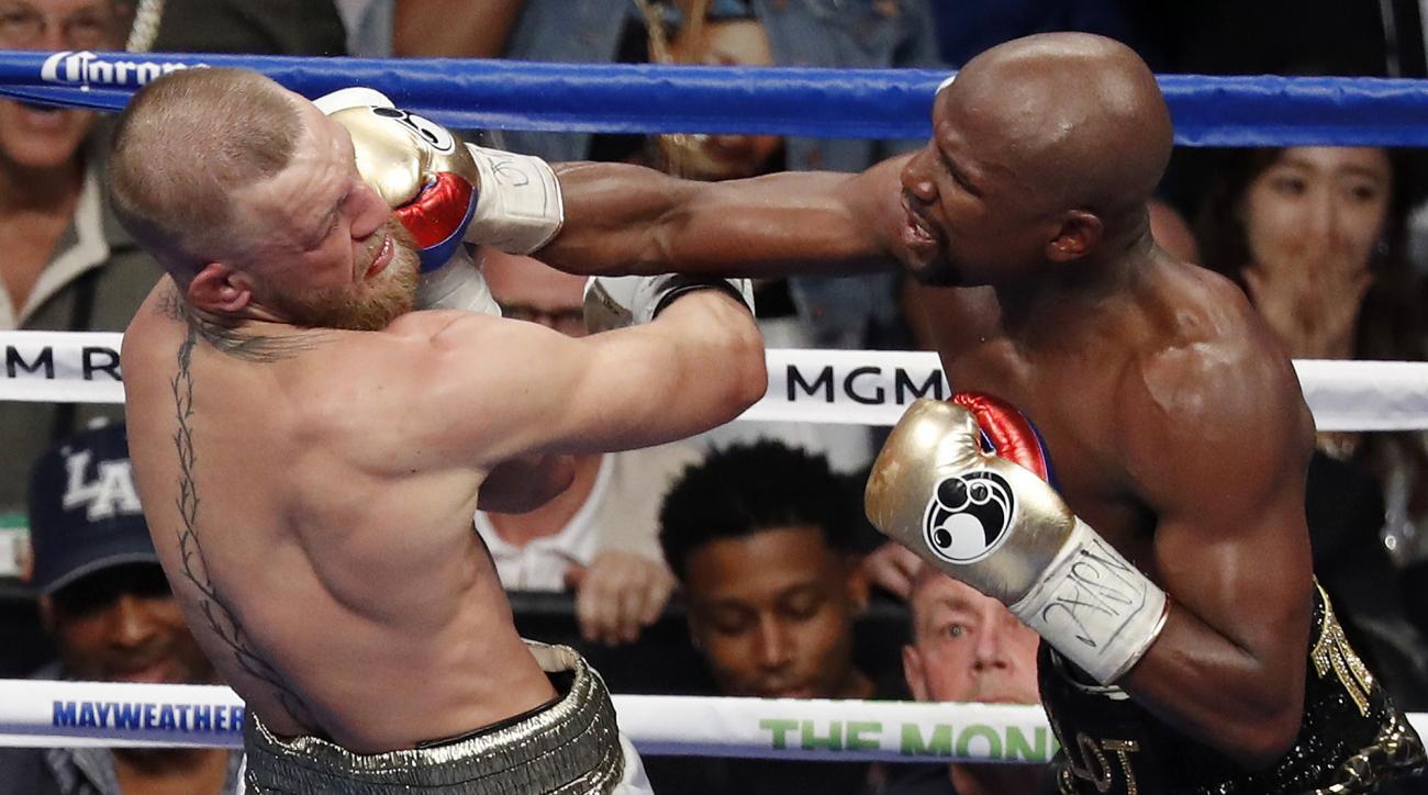 Mayweather-McGregor generated $55.4 million in ticket sales.