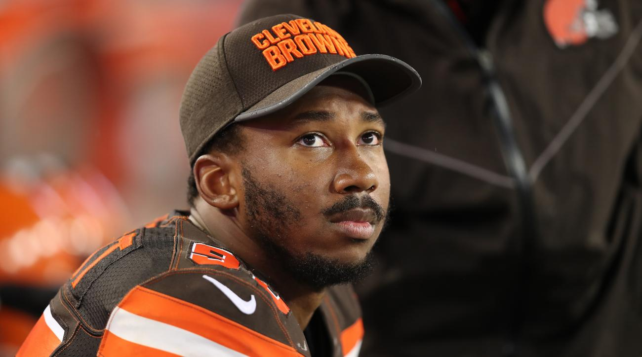 Myles Garrett suffers ankle injury, will undergo MRI