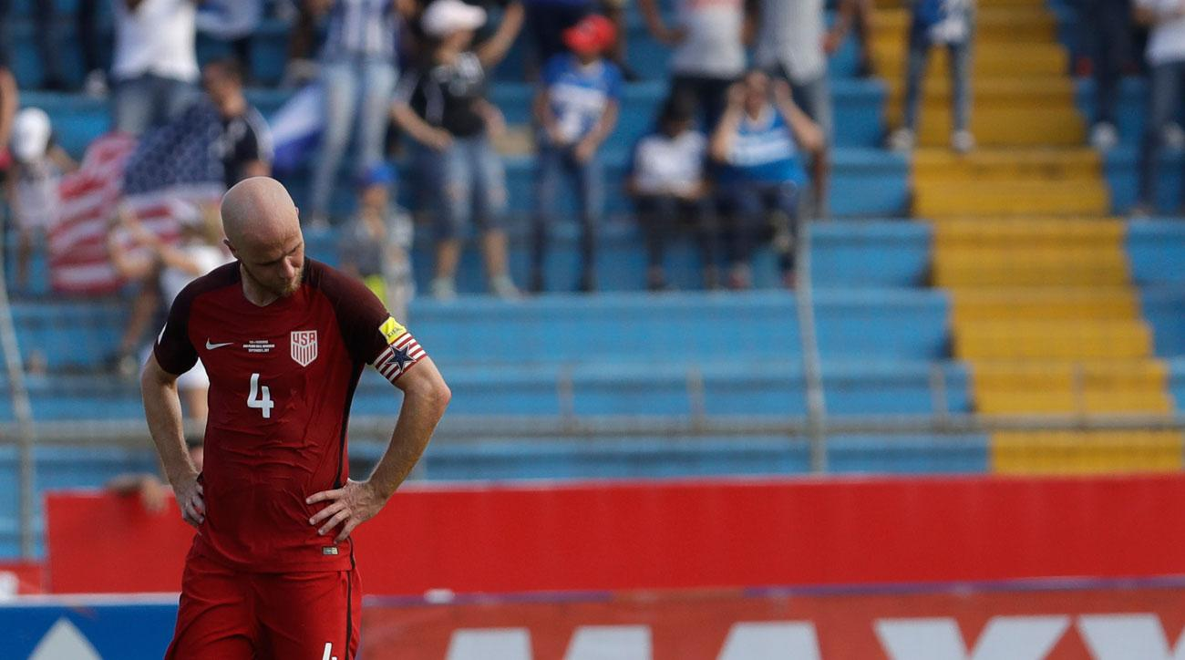 Michael Bradley and the USMNT are having trouble qualifying for the World Cup