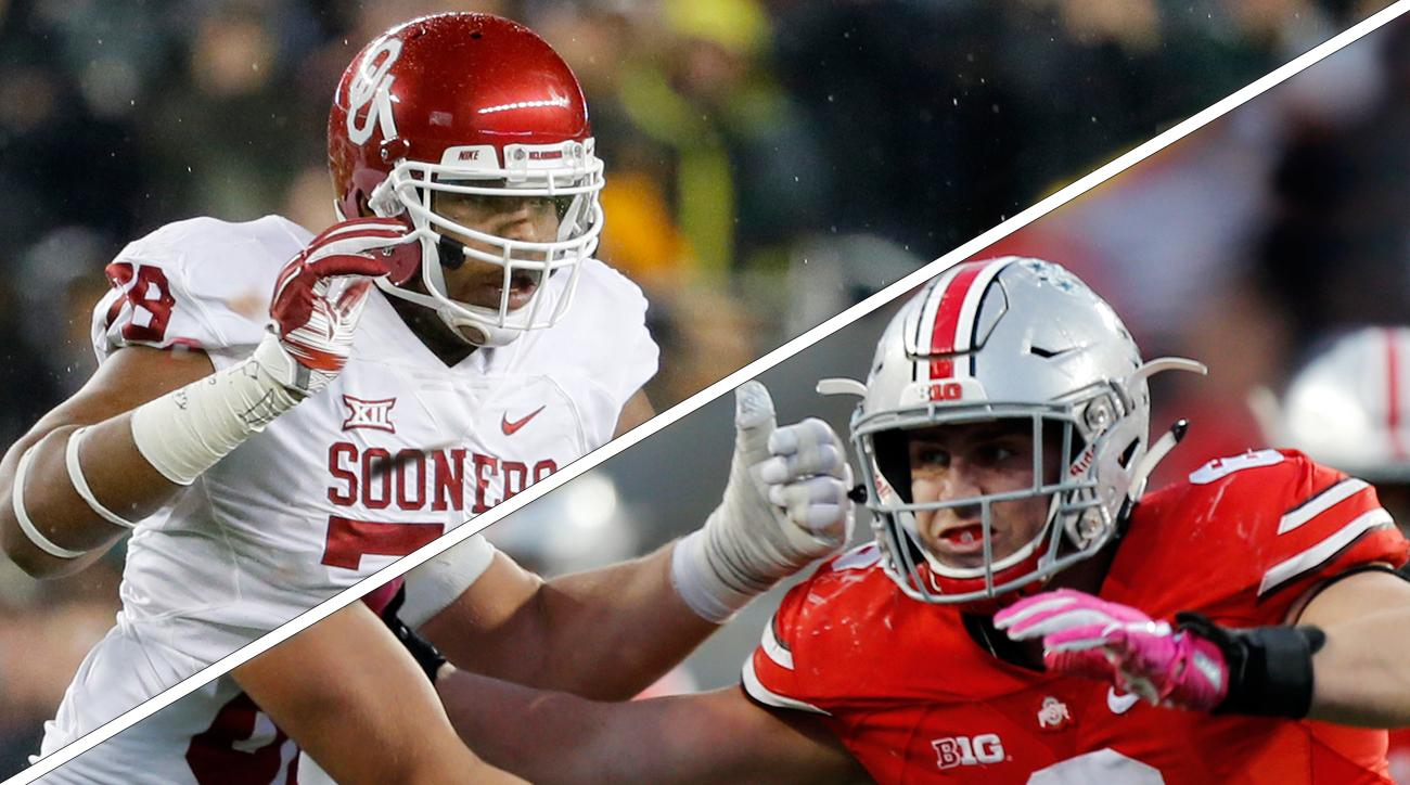 How Orlando Brown And Sam Hubbard Came To Tip The Scales Of Oklahoma Vs Ohio State