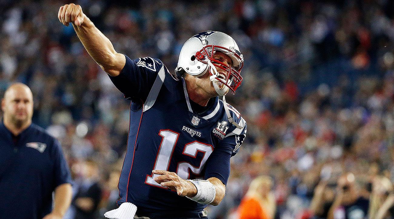 Patriots QB Tom Brady Against Chiefs