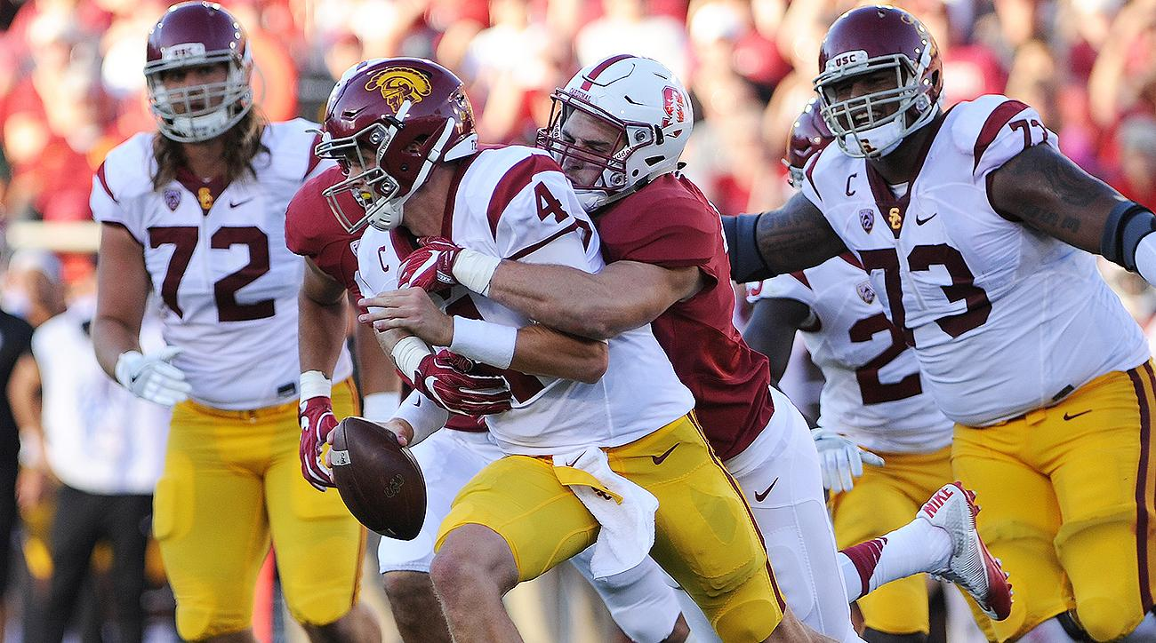 USC vs. Stanford: History since Jim Harbaugh shows Cardinal are Trojans' big obstacle