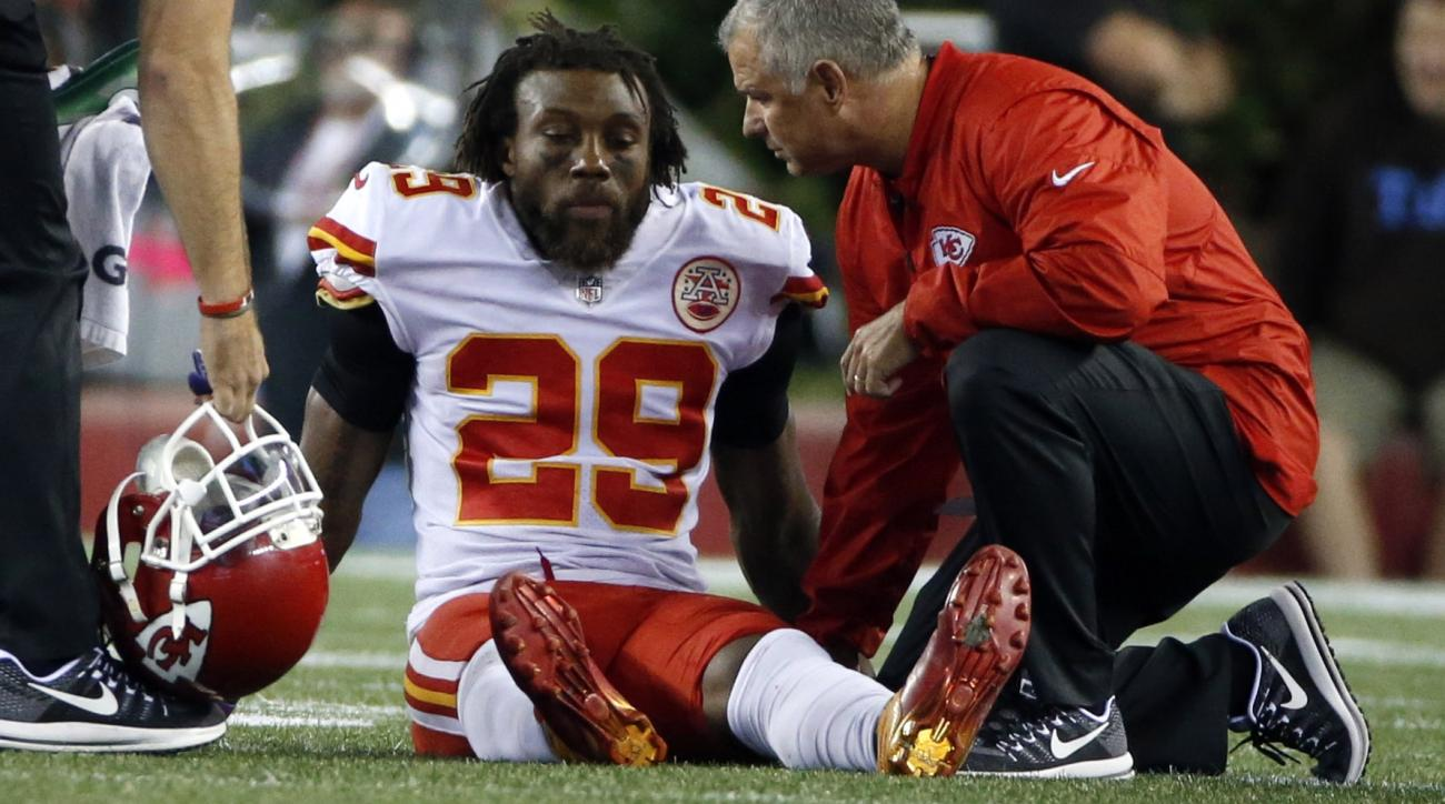 Eric Berry injury Chiefs S tore Achilles tendon