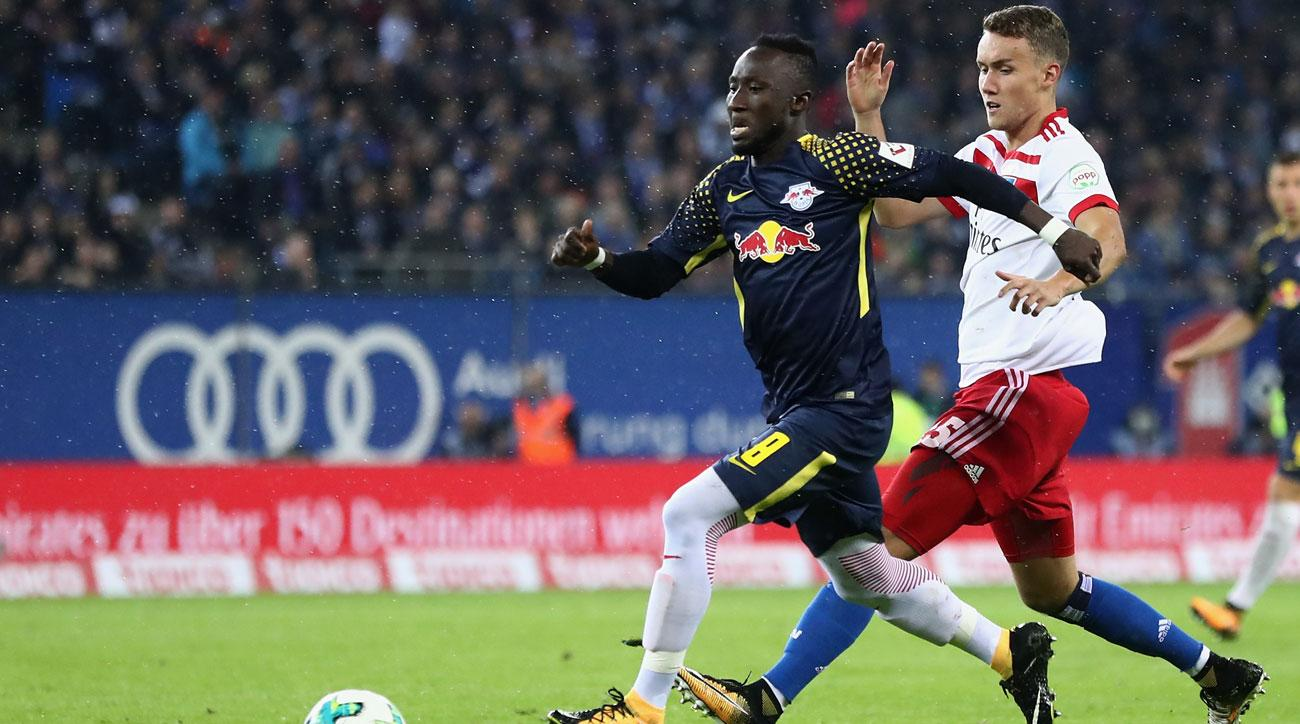 Naby Keita, Timo Werner score in RB Leipzig win against Hamburg