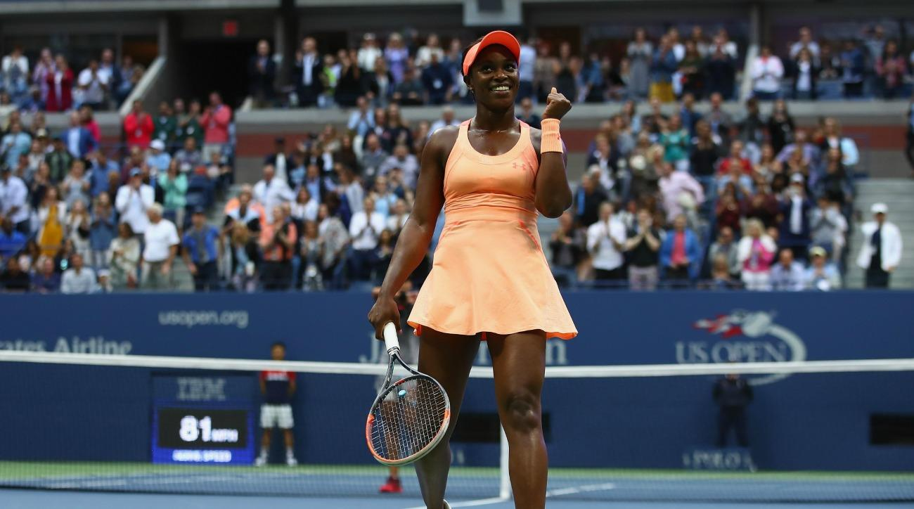 sloane stephens winner us open reaction