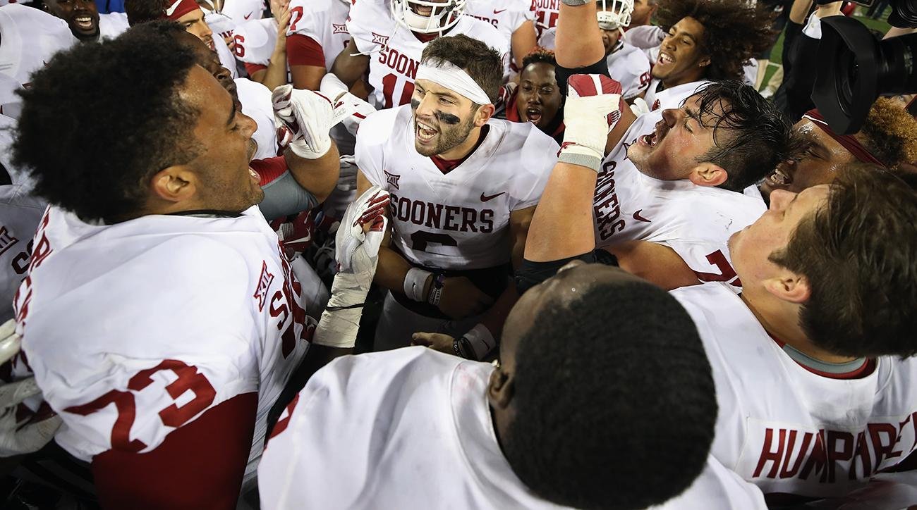 Oklahoma QB Baker Mayfield Issues Weak-Ass Apology For Badass Flag Planting
