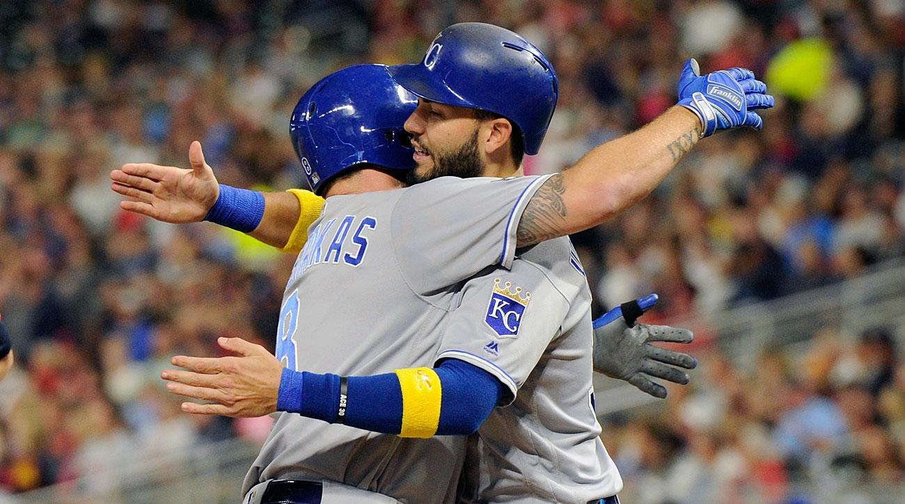 Mike Moustakas and Eric Hosmer, Kansas City Royals