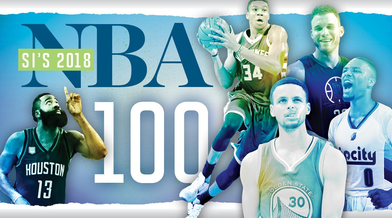 Top 100 NBA Players of 2018