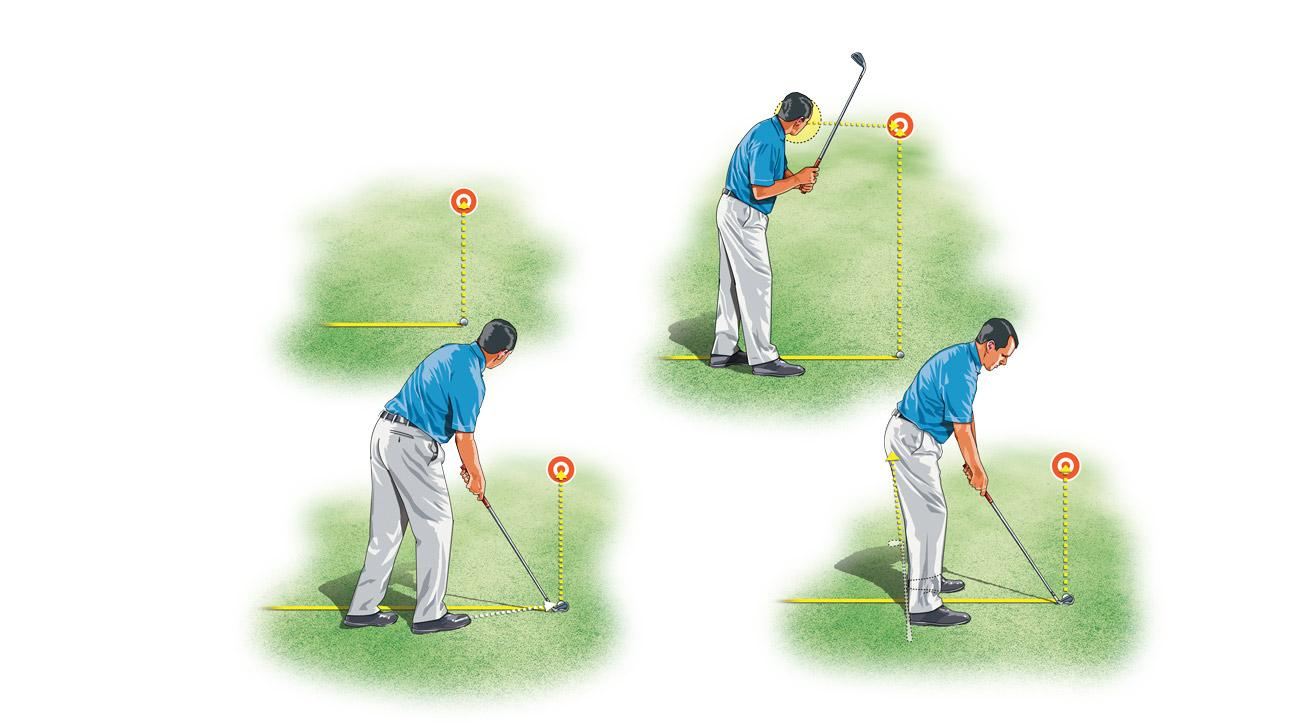 Use this right-toe aim trick to stop flaring shots to the right.