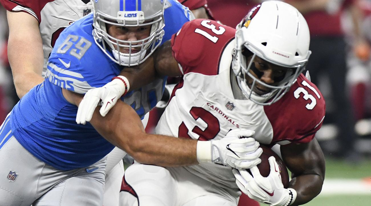 Cardinals RB David Johnson injured