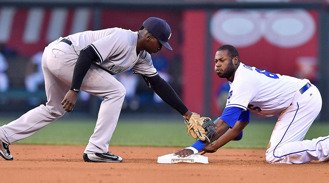 Didi Gregorius, New York Yankees; Lorenzo Cain, Kansas City Royals