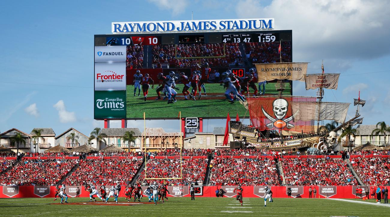 Bears-Buccaneers To Be Played As Scheduled Sunday In Tampa