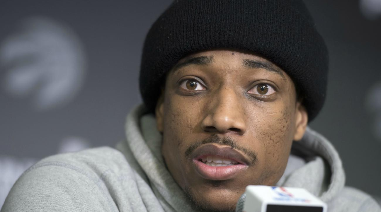 DeMar DeRozan ripped Sports Illustrated again over his National Basketball Association player ranking