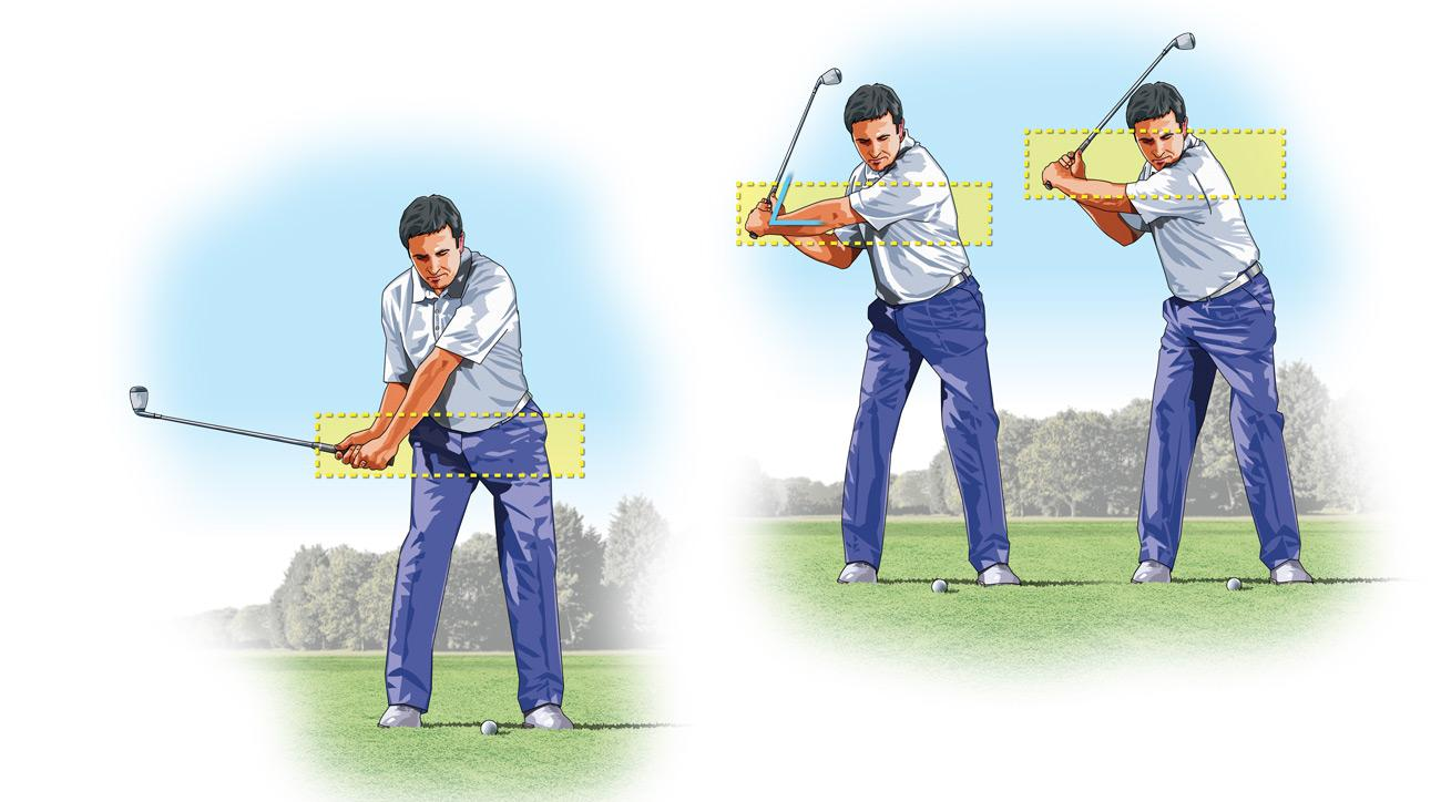 Most golfers only use one swing for their scoring wedges, which makes it difficult to dial in the right distances on partial, short-range shots.