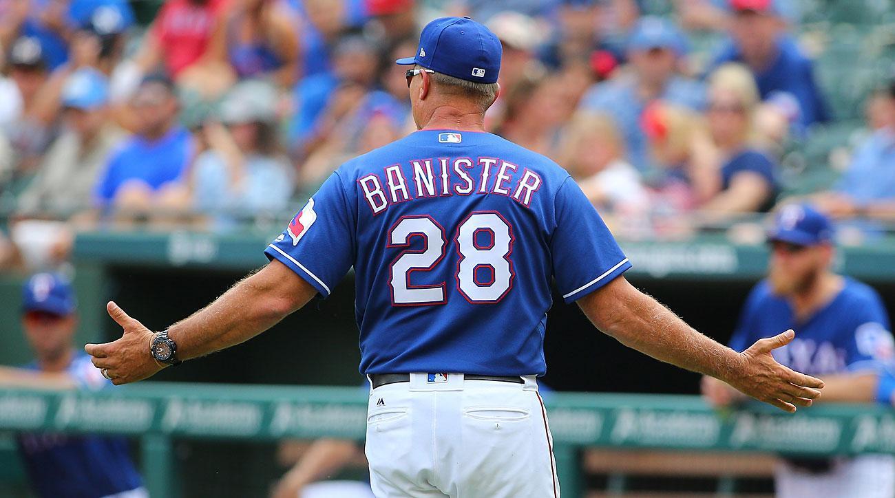 Jeff Banister, Texas Rangers