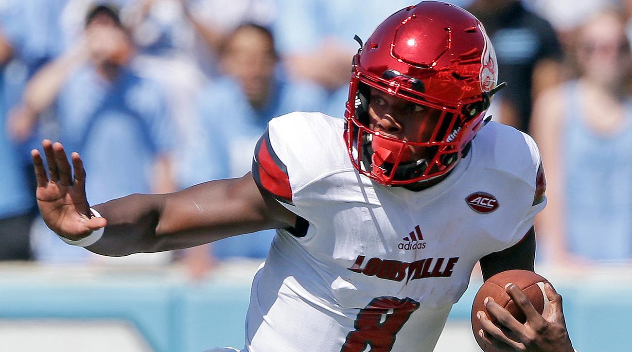Lamar Jackson: Heisman Trophy repeat possible for Louisville Cardinals QB
