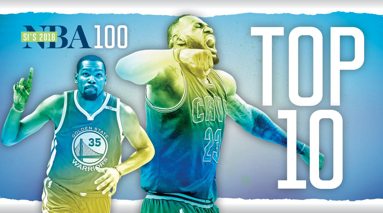 eccc812a6 Top 100 NBA Players of 2018  LeBron or Durant at No. 1