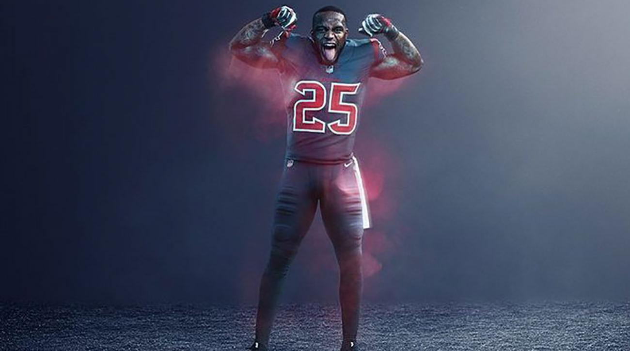 the best attitude 1a127 d93ca NFL color rush uniforms 2017: Thursday Night Football ...