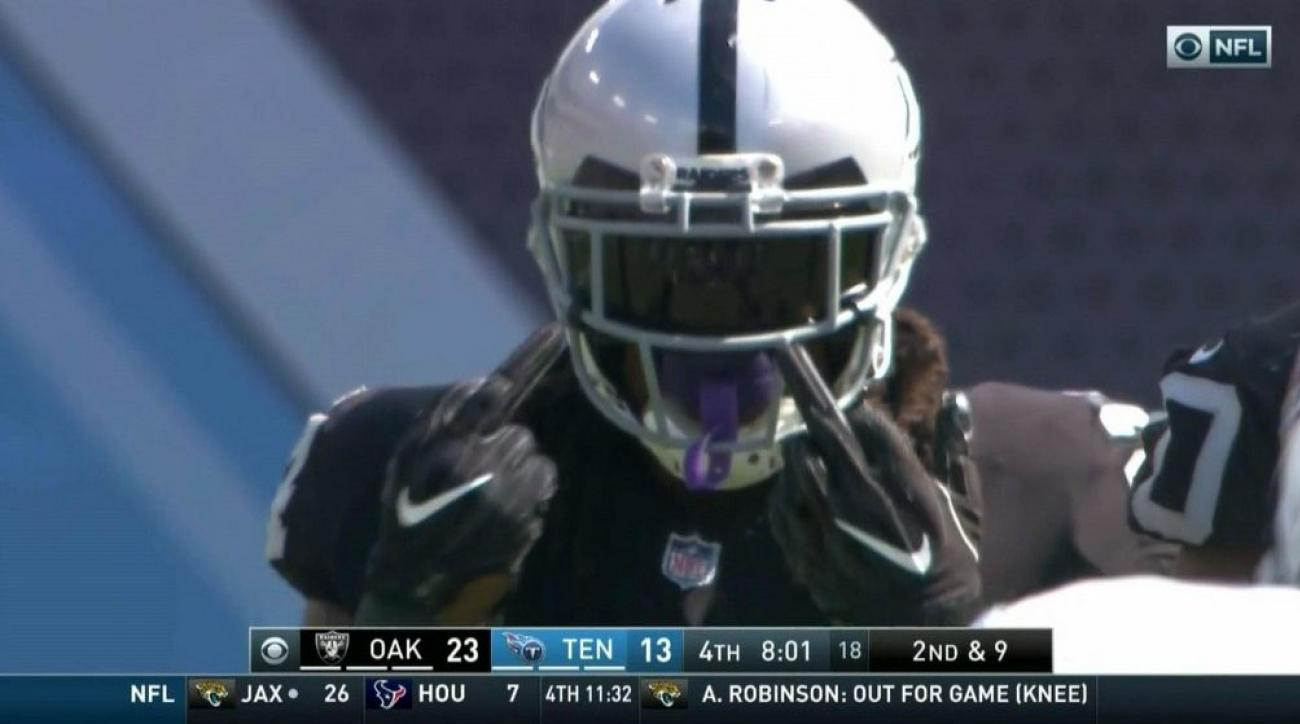 Marshawn Lynch  Raiders RB reportedly fined for middle fingers  ce74b2555