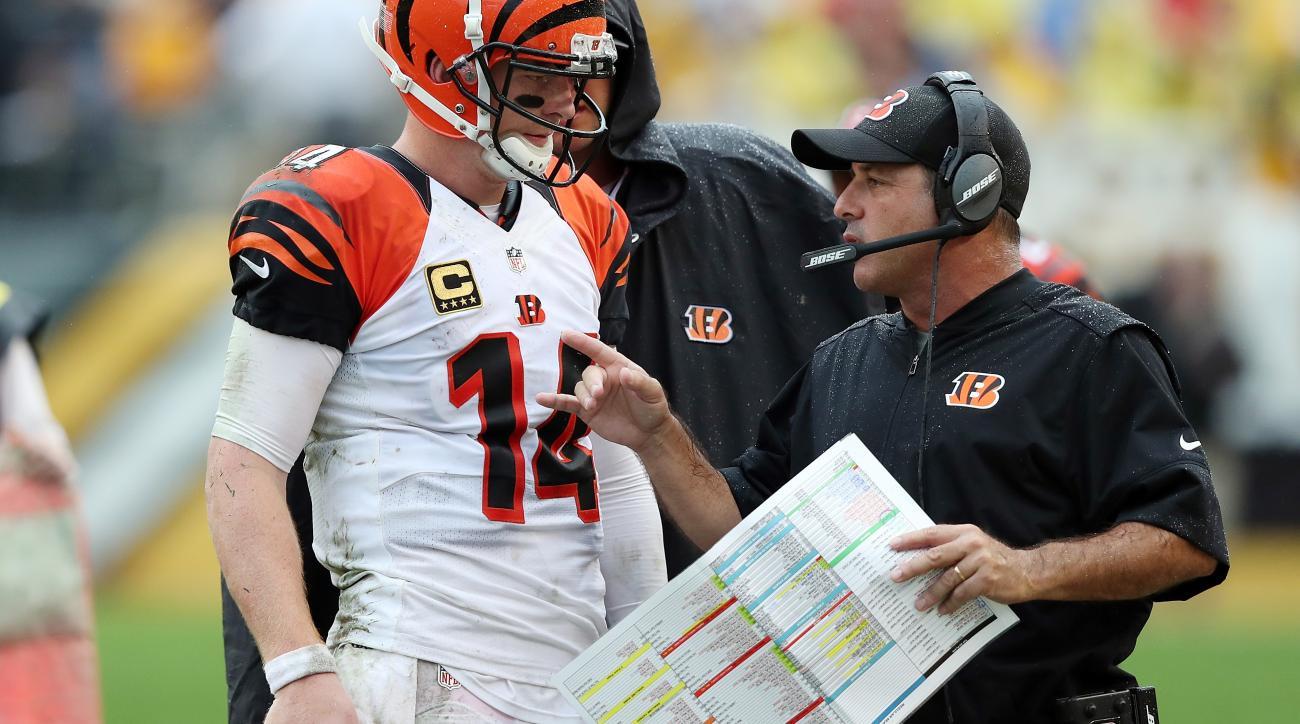 Ken Zampese: Bengals offensive coordinator fired