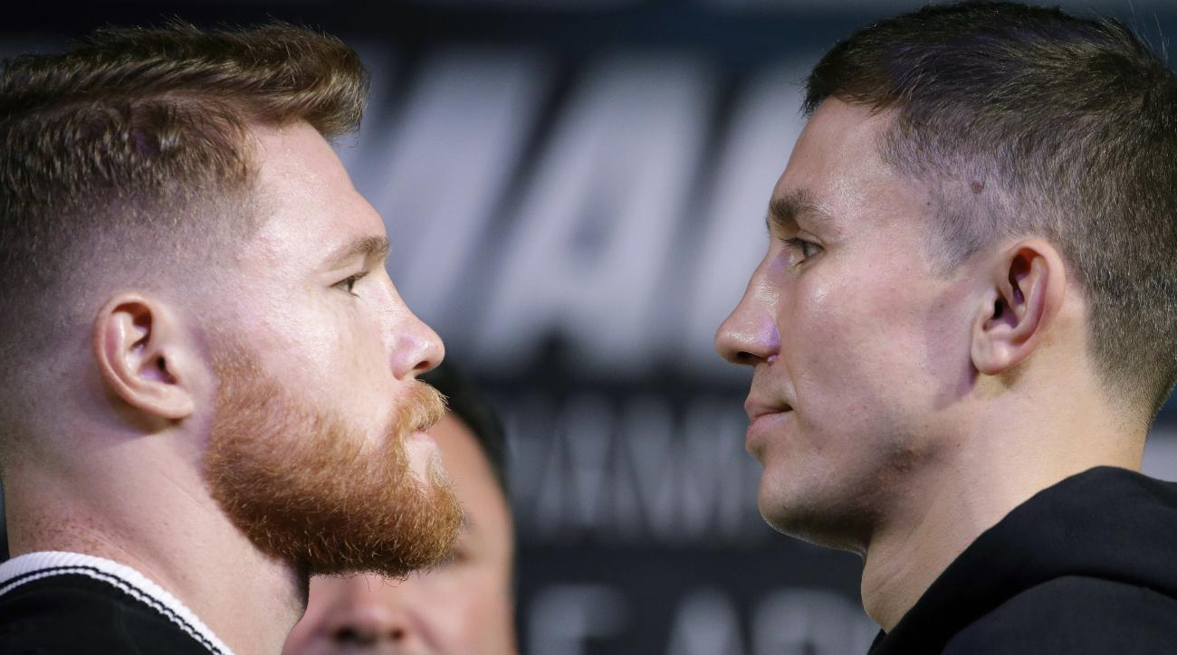 Alvarez vs. Golovkin Weigh-In: Results, Twitter Reaction for Pre-Fight Event