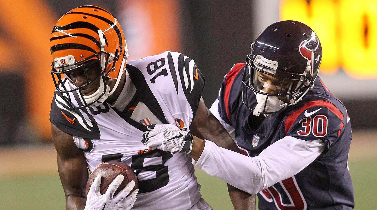 cincinnati bengals aj green texans thursday night football