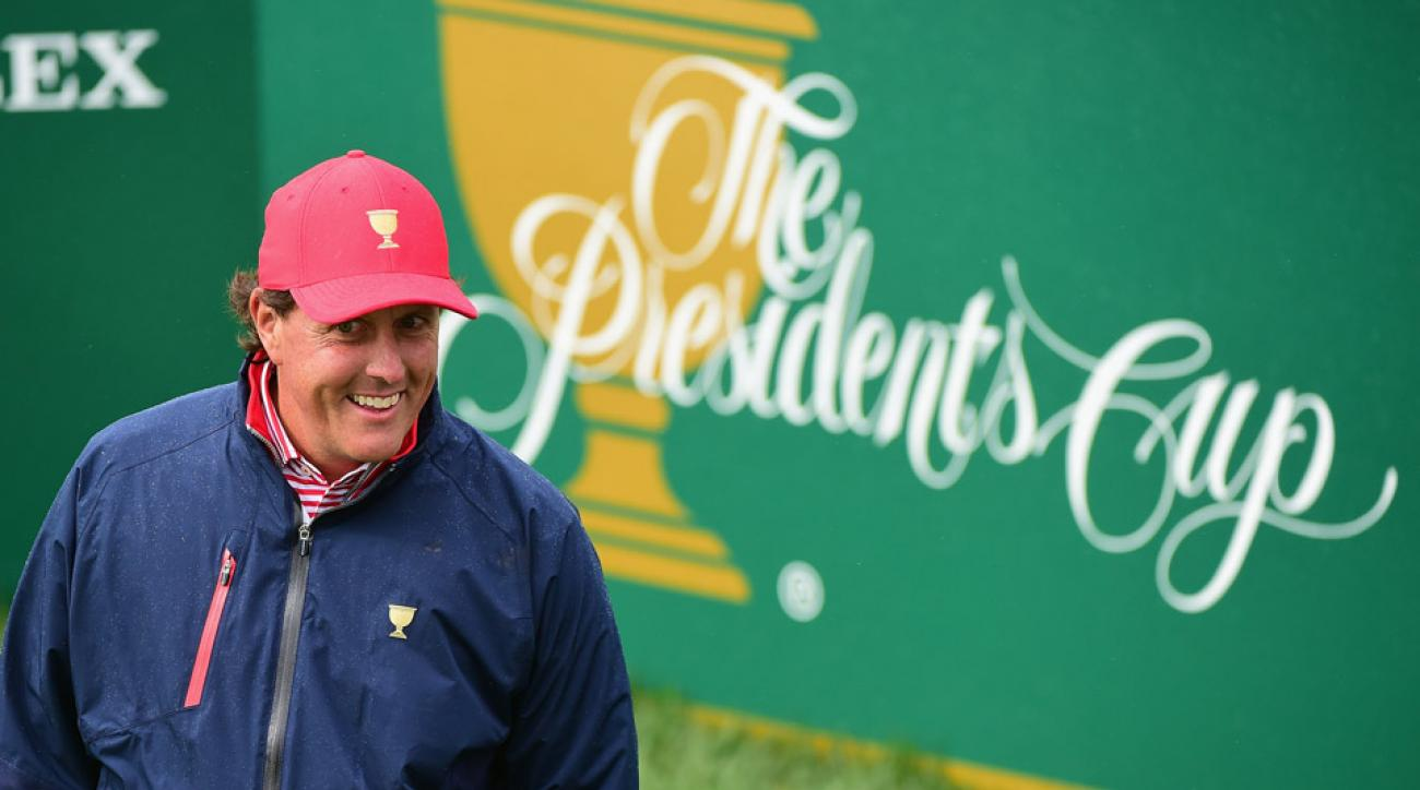 Phil Mickelson will represent Team USA in his 12th consecutive Presidents Cup appearance.