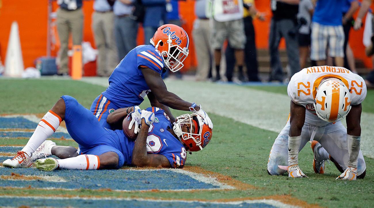 Florida vs. Tennessee ending: Butch Jones, Feleipe Franks's Hail Mary and a wild finish