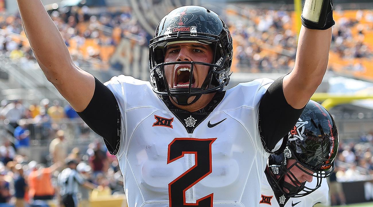 Oklahoma State vs. Pitt: Mason Rudolph and Jalen McCleskey dominate