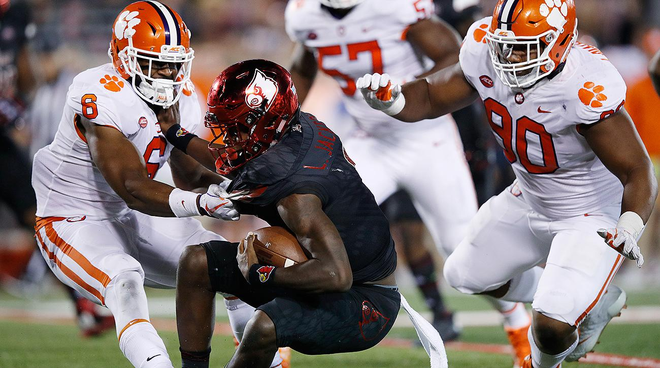 Clemson vs. Louisville: Lamar Jackson no match for Tigers defense