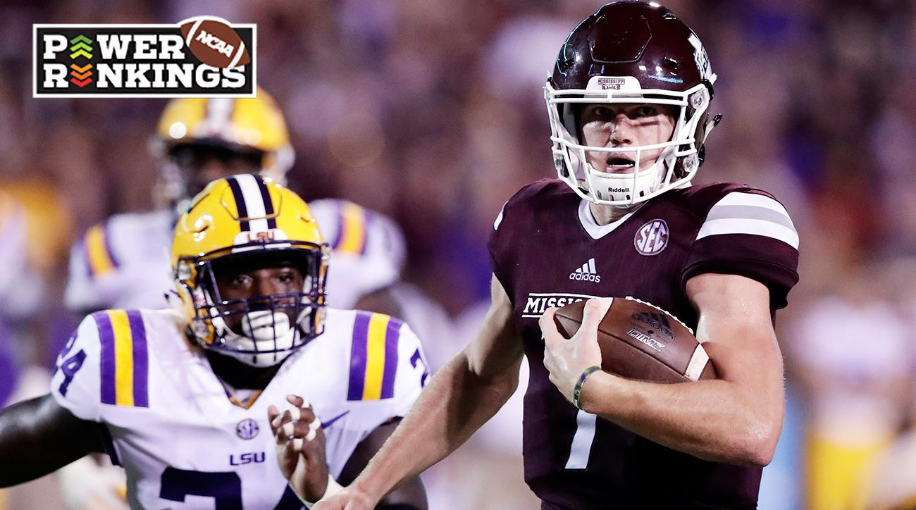 College football Week 4 Power Rankings: Alabama No. 1, Clemson and Mississippi State climb