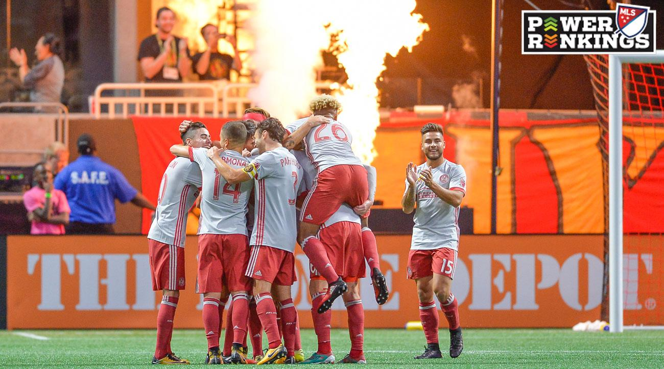 Atlanta United has scored 13 goals in three games at its new stadium
