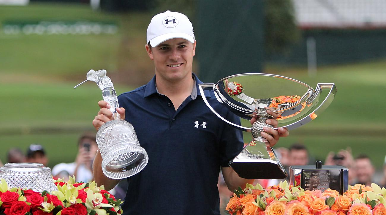 Jordan Spieth cashed in by winning the Tour Championship and the FedEx Cup in 2015.
