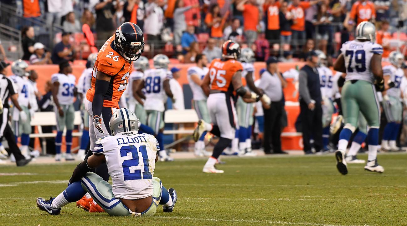 Following the Cowboys' blowout loss to the Broncos, Ezekiel Elliott's effort has been called into question.