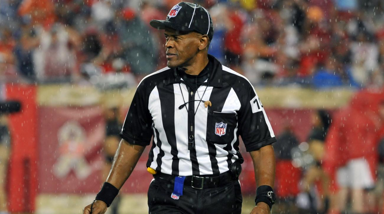 NFL referee Carl Johnson is under investigation for domestic violence.
