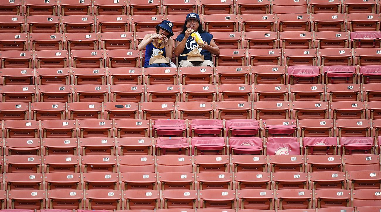 Los Angeles Rams Stadium Attendance: How fans really feel