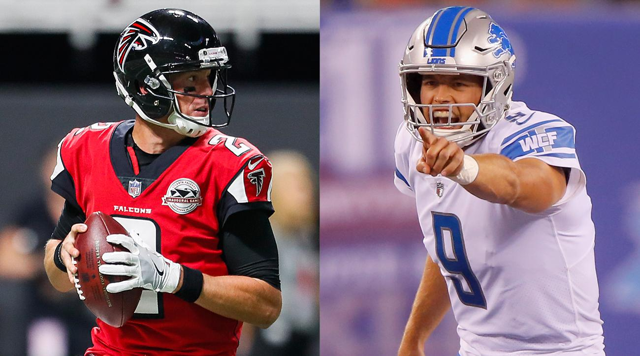 Matt Ryan and Matt Stafford face off in Week 3.