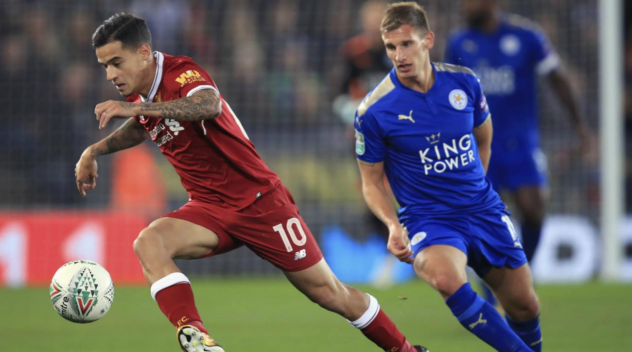 Leicester City v Liverpool