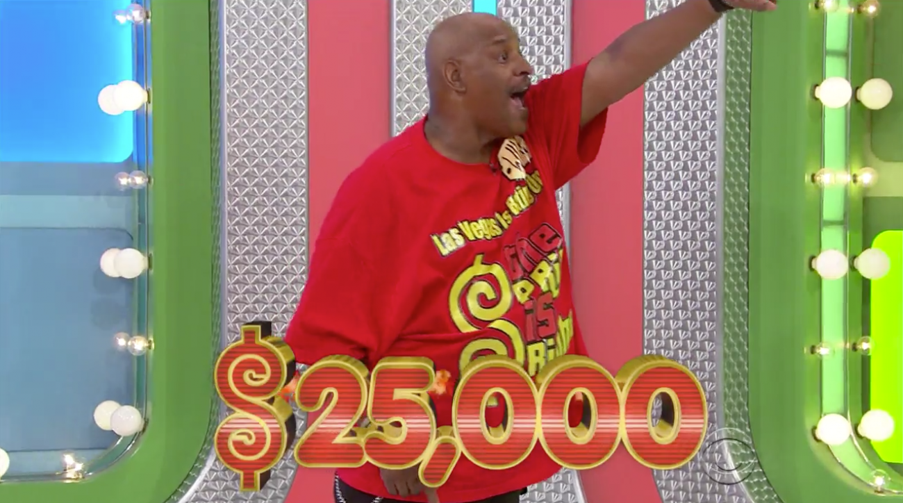 The Price is Right makes history at the wheel Friday