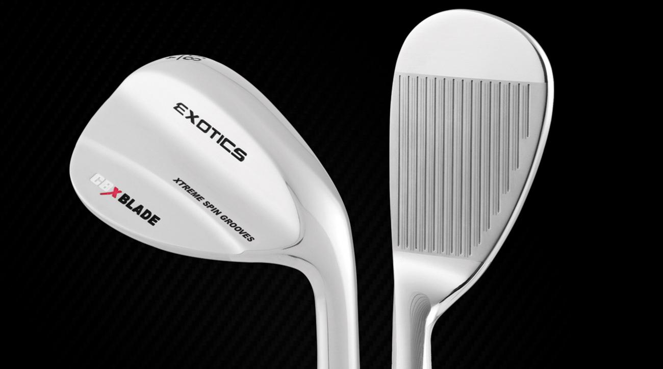 The new Tour Edge Exotics CBX wedge.