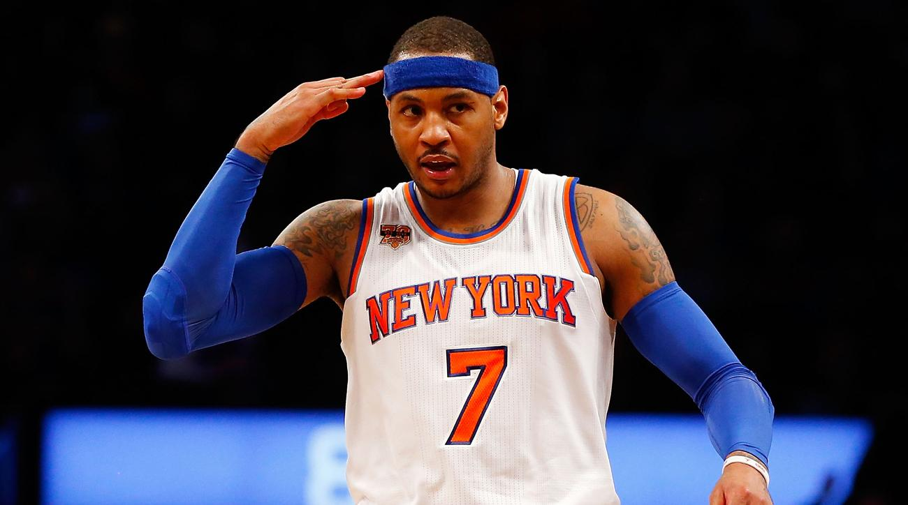Carmelo Anthony adds Cleveland Cavaliers as acceptable team for trade