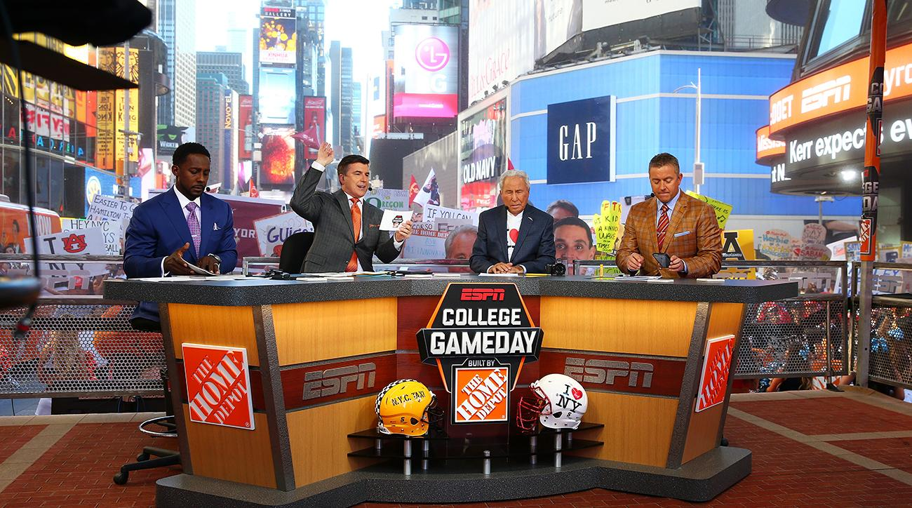 College GameDay Times Square: New York City comes alive for college football