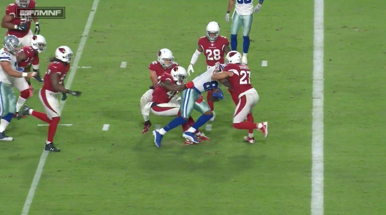 Dez Bryant Touchdown Cowboys Wr Scores Vs Cardinals Video